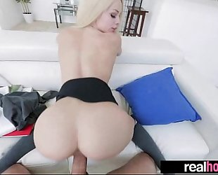 (elsa jean) nice-looking girlfriend perform hard style on tape movie-14