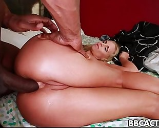 Cock Hungry Black Skank Swallows White Meat