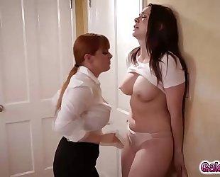 laura jones and sadie leech lesbian 4some