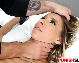 Tied up with no safeword for bad slut kenzie reeves