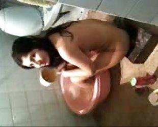 whore bath taking