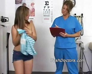 Katrina gets her deeeeep physical