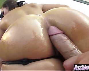 Anal deep hardcore sex with big round oiled butt wench black cock sluts (kelsi monroe) vid-19