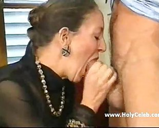 French-German Granny Anally Fisted