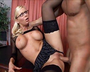 Helena Sweet office sex