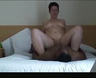 My 1-time Interracial ends with facial