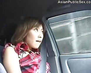 Asian Public Car/Bathroom Blowjob uncensored