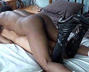 Jade Jamison Birthday GangBang Interracial anal threesome