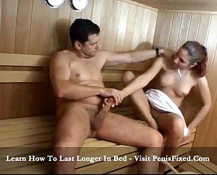 Denise - sauna fuck