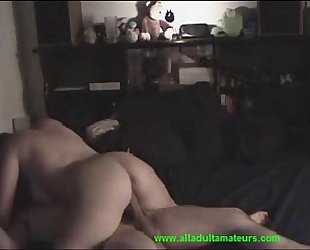 Couple fucking and blowjob on cam