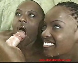Fucking two ebony twins