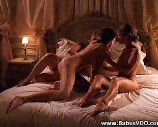 Three Horny Filmed Having Sex