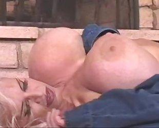Busty blonde milf
