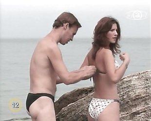 Candid Nudes - Beach bikini