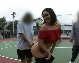Charley Chase Poses For Nude Photos in Public
