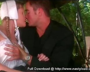 Hot Blonde Maid - Persuaded Blowjob