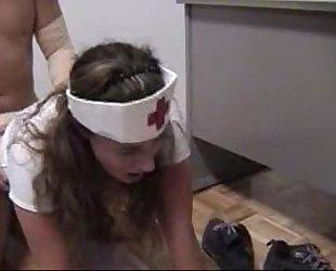 Anal Destruction Nurse Kelly