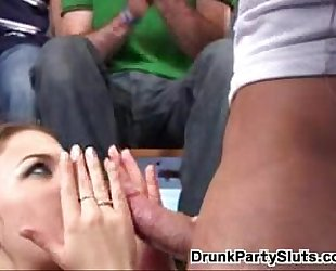 Sex Party Cum Facial