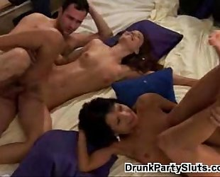 Party Girl Sucking Big Dick