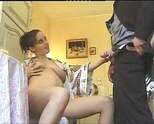 Pregnant Arab Girl
