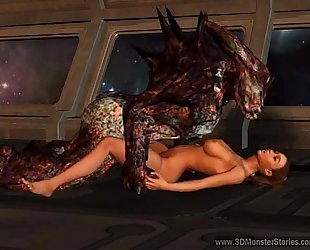 Sex with a monster