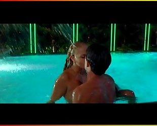 Elizabeth Berkley - Showgirls Pool Scene