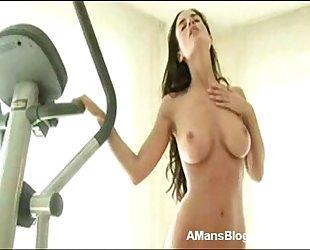 Sexy Girls Ass Girl Exercises Naked