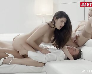 Very nice XXX threesome with Rebeca Black and her bestie