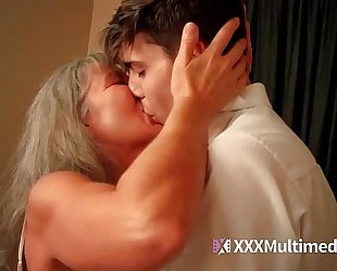 Old step mom copulates young son - leilani lei