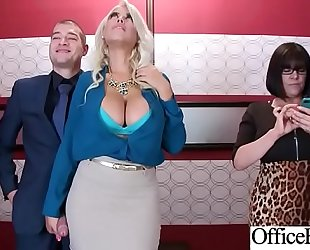 (bridgette b) big milk shakes sexually concupiscent office slutty wife get nailed hardcore vid-06